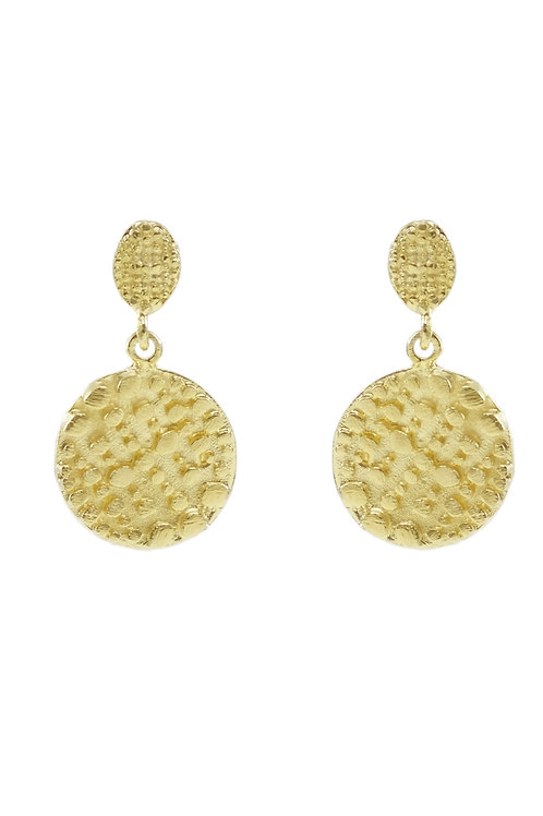 Embossed Details Earrings