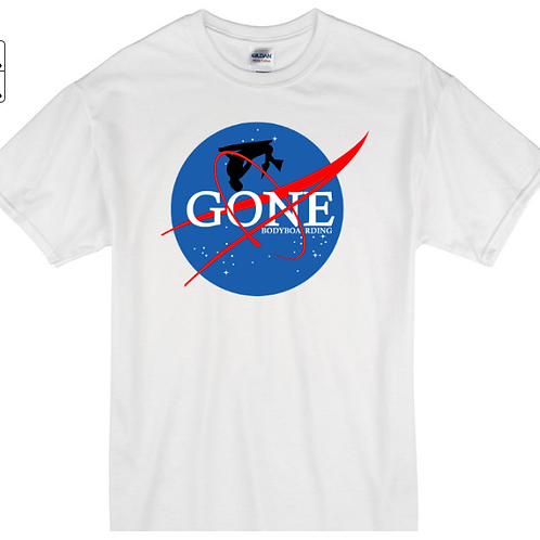 Gone to Space 2 White
