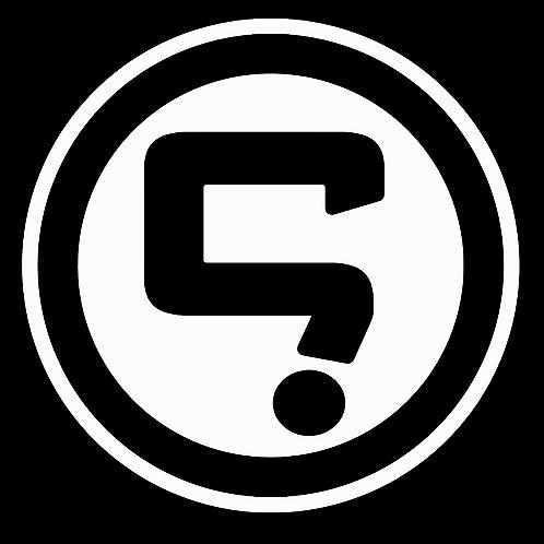 Gone Question Mark Logo 14cm x 14cm