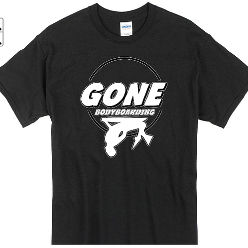 Gone FLIPPED OUT black outline