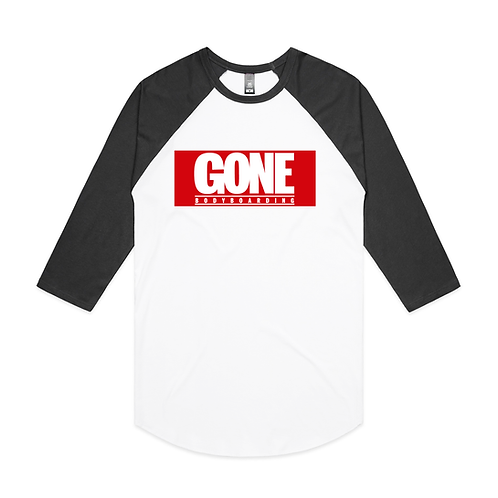 Gone Superhero Raglan
