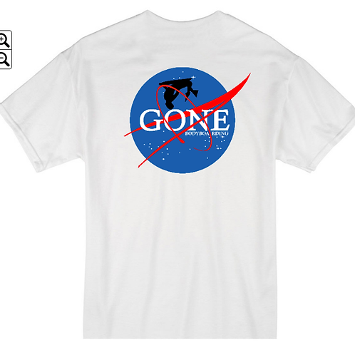 Gone to Space 1 White