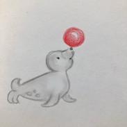 zeehond ballon iw