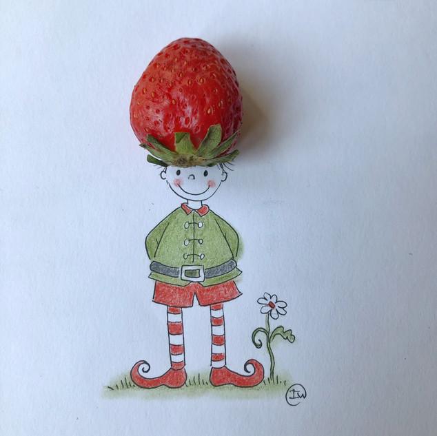 aardbeienmannetje iw