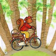 eekhoorn fiets iw