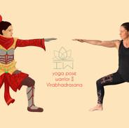 yoga warrior iw