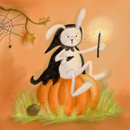 halloweenkonijn iw