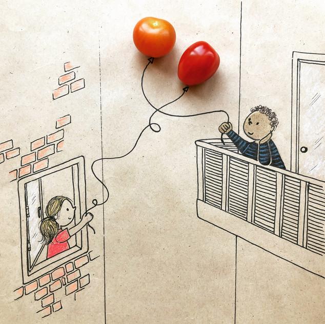 tomatenballonnen iw