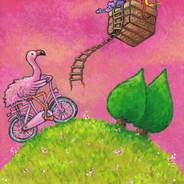 flamingo fiets iw