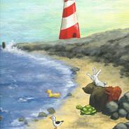 strand vuurtoren iw
