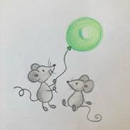 muizen ballon iw