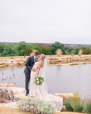 Hidden River Ranch Weddings and Events; PK Planning; T Walker Photography; Reiley and Rose Floral; Level 12 Salon Hair and Makeup; Georgio's Bridal Waco TX