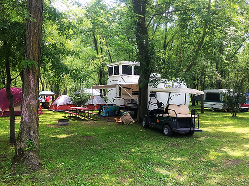 Water/Electric Site for a Camper