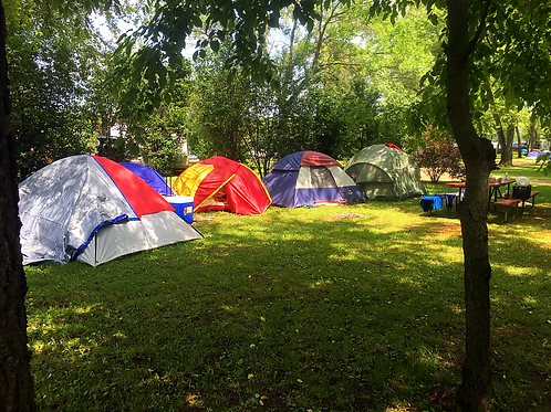 Water/Electric Tent Site