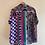Thumbnail: Unisex Purple Polka Shirt