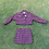 Thumbnail: Pink Strobe High Waist Skirt