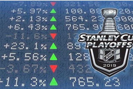 What do the NHL playoffs and the stock market have in common?