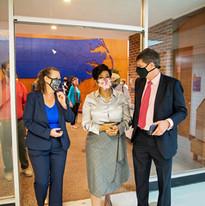 Machelle Sanders Touring FFVC with NALA CEO Sue Mecham