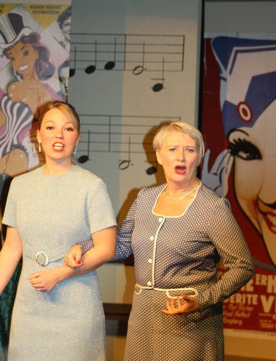 Michelle Hansen Og Marian Løsekrug