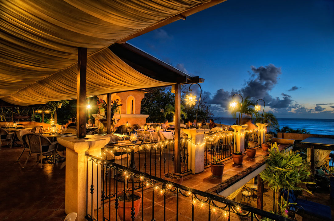 Romantic Dinner Cafe Luna Barbados