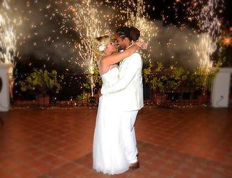 couple dancing wedding cafe luna barbados