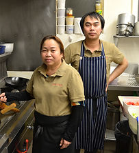 Khemporn and Theerayuth chefs