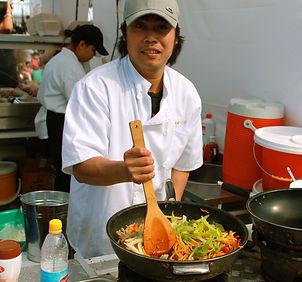 On site Thai chef