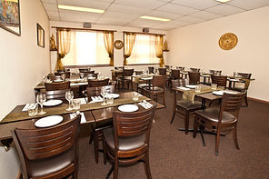 VIP room available for private dining