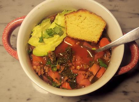 Veggie Loaded Chili (AIP, SCD, low-fodmap)