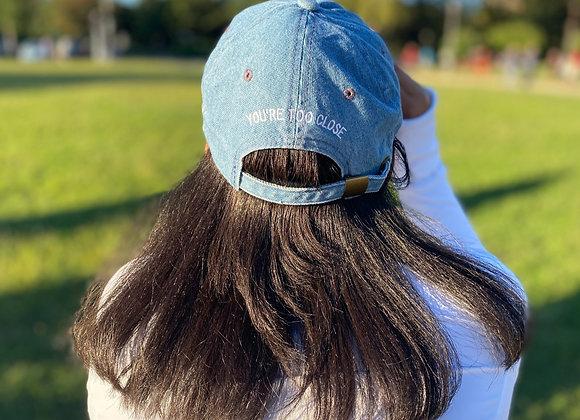Denim Social Distance Hat