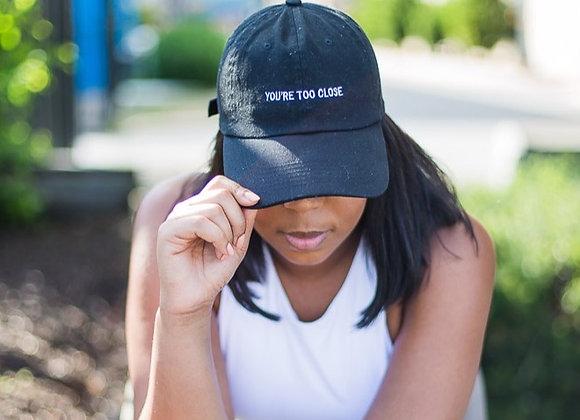 Black Social Distance Hat