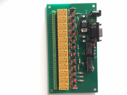 C123A30V 12 Ways Relay Board with Serial Interface