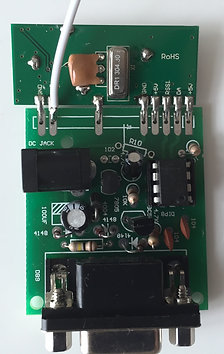 Active RFID Receiver RF8315R, Serial Interface + Serial/USB Converter