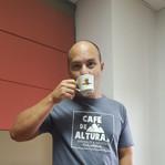Disfrutando de un café de altura