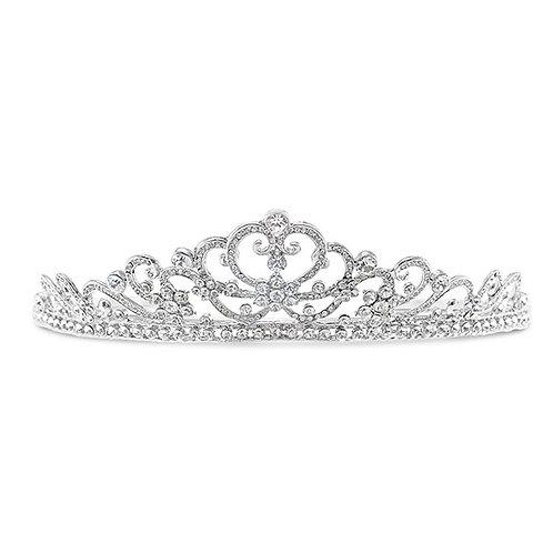 Bridal Silver Crystal Tiara 132161