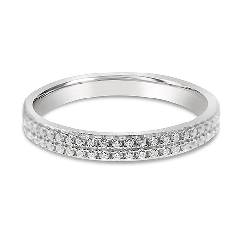 Sterling Silver Cubic Zirconia Ring 132028