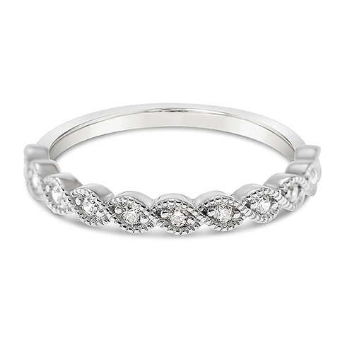 Sterling Silver Cubic Zirconia Ring 143179