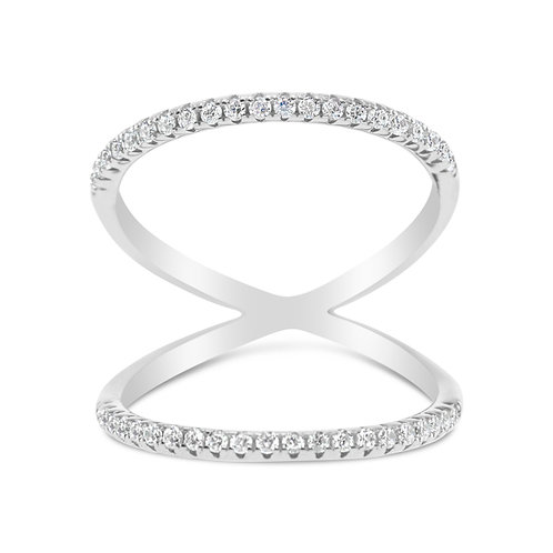 Sterling Silver Cubic Zirconia Ring 125260
