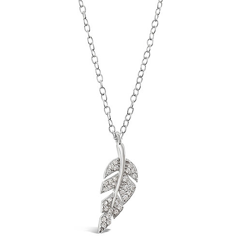 Sterling Silver Cubic Zirconia Necklace 141800