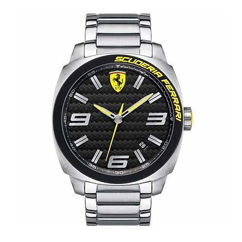 Scuderia Ferrari Mens Aero Evo Black Dial Date Display 126636