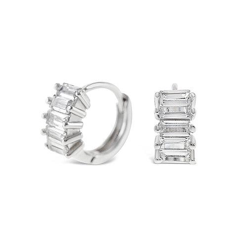Sterling Silver Cubic Zirconia Earrings 141779