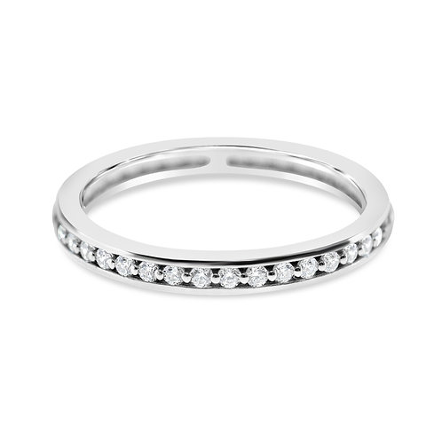 Bitter Sweet Sterling Silver Cubic Zirconia Ring 132120