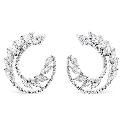 Cubic Zirconia Stud Earrings 139678