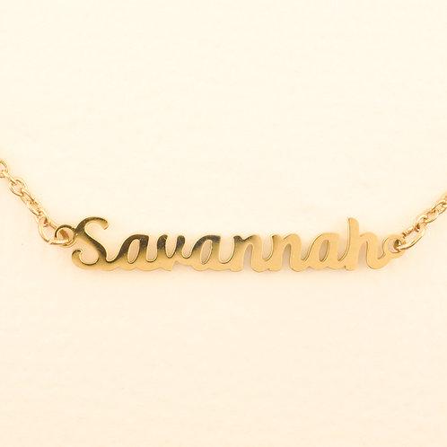 Marina De Buchi Personalized Necklace Savannah 140384