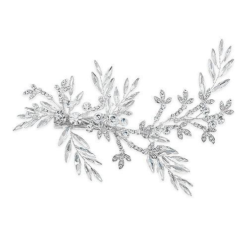 Bridal Silver Hair Clip 142068