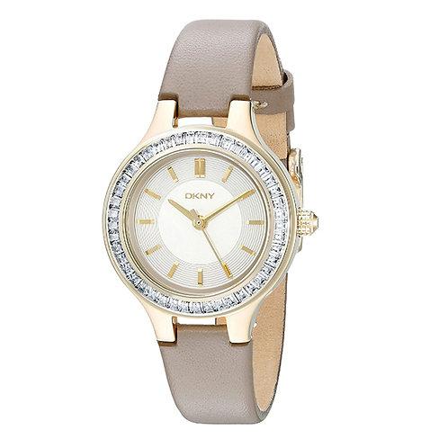 DKNY Chambers Champagne Women Watch 127692
