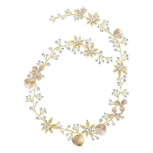 Bridal Gold Hair Vine 137533