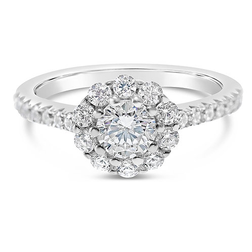 Bitter Sweet Sterling Silver Cubic Zirconia Ring 141325