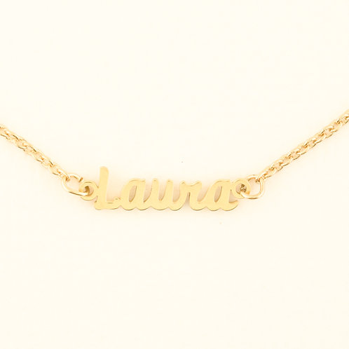Name Plate Necklace L