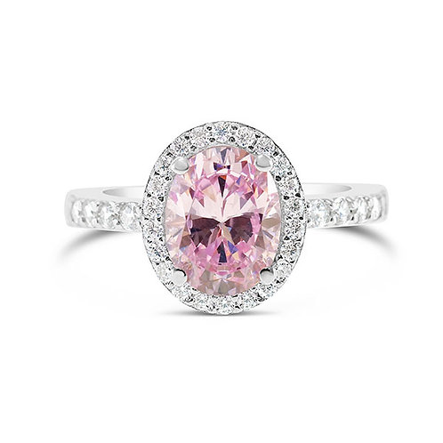 Sterling Silver Cubic Zirconia Ring 132093